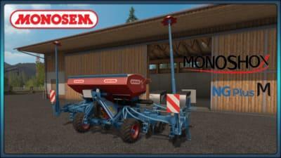 Мод сеялка MONOSEM MONOSHOX NG PLUS M - DH V1.0 FS17