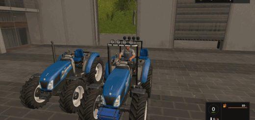 Мод трактор New Holland T 4.75 v 1.1 Farming Simulator 2017