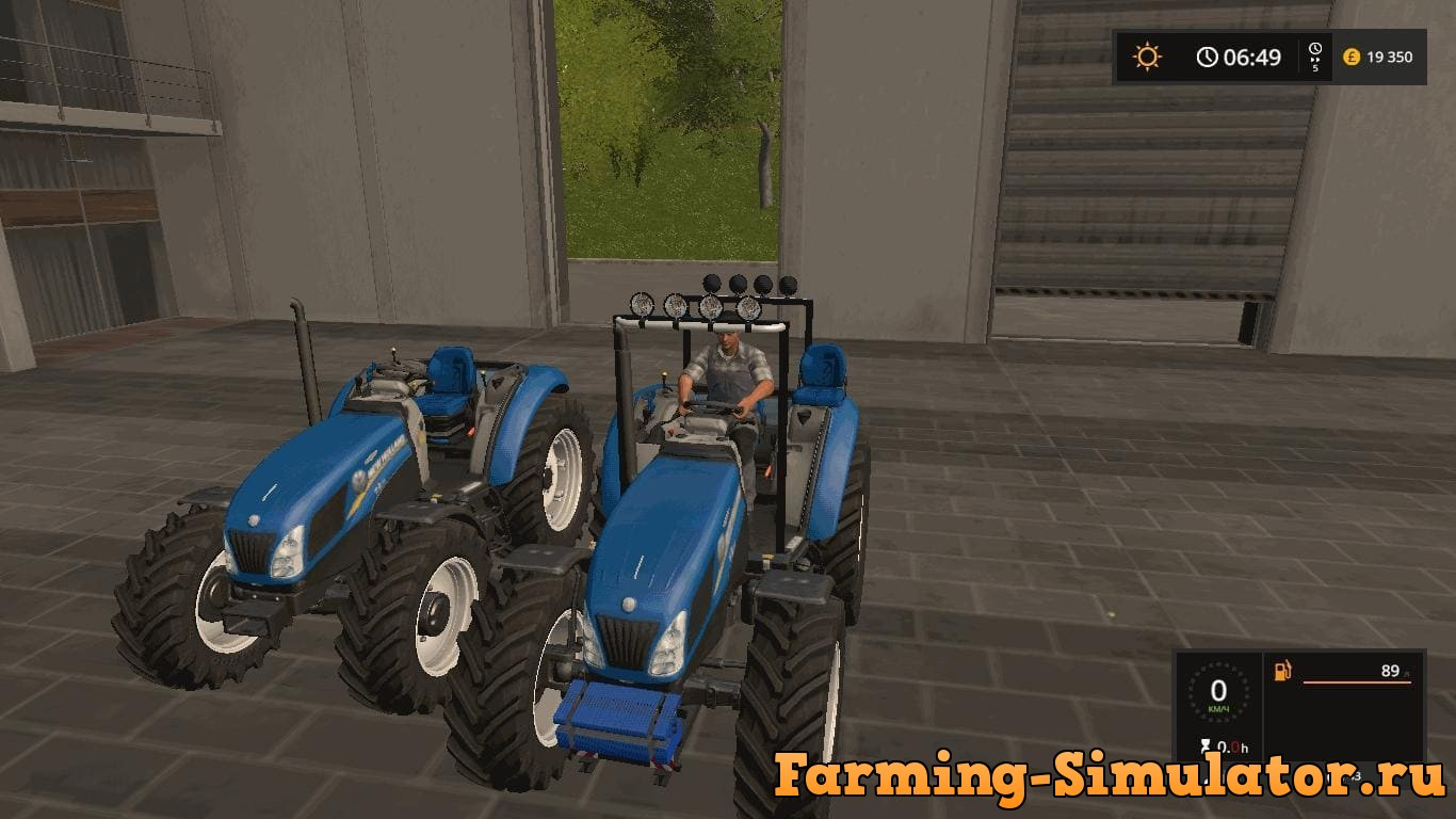 Мод трактор New Holland T 4.75 v 1.1 Farming Simulator 2017