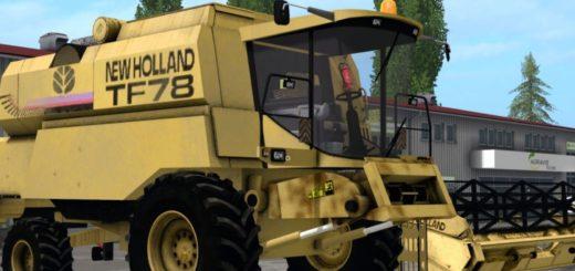 Мод комбайн New Holland TF78 v1.0 FS17