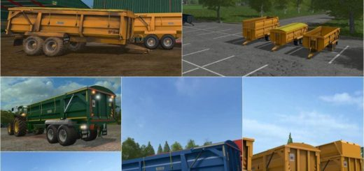 Мод ПАК прицепы RICHARD WESTERN SF16 HIGH SPEC V1.0 FS17