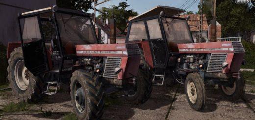Мод трактор URSUS C385/C385A V1.0.0.1 Farming Simulator 2017