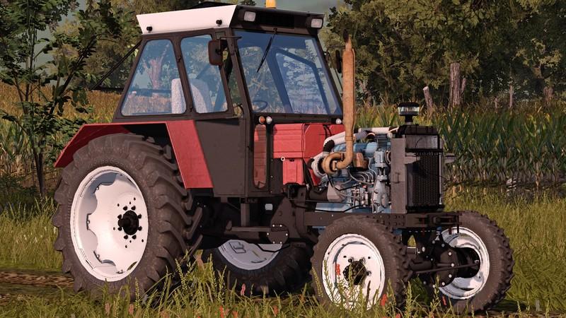 Мод трактор Universal 651M Turbo V1.0 FS17