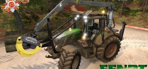 Мод трактор Fendt 800 Vario S4 Profi Plus v1.0 FS17