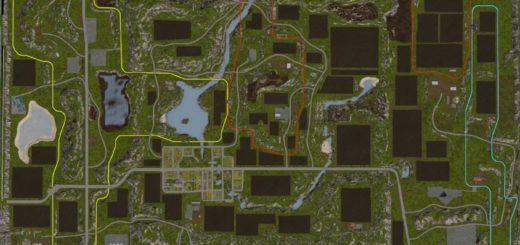 Мод карта Pleasant Valley 17 V3.7 RUS Farming Simulator 2017