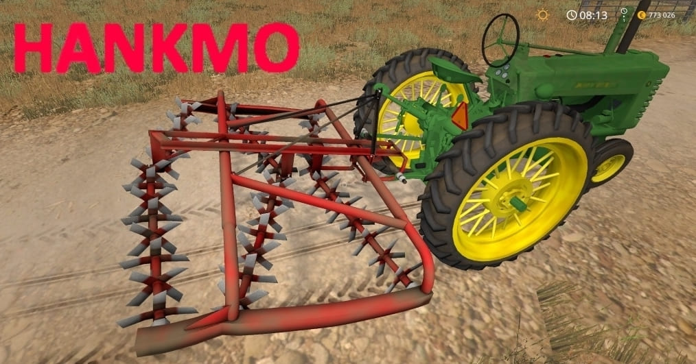 "Мод культиватор Hankmo 90 v1.0"" для Farming Simulator 2017"