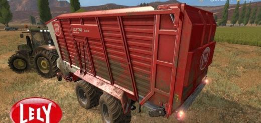 Мод прицеп Lely Tigo XR 65D v2.0 Farming Simulator 17