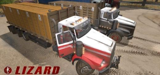 Мод грузовик Lizard SX 210 Twinstar Balen v1.0 FS17