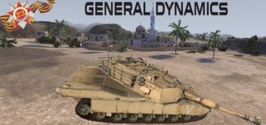 Мод танк M1A1 Abrams v1.1 Farming Simulator 17