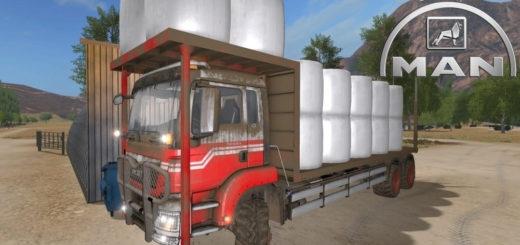 Мод грузовик MAN TGS Balen Farming Simulator 2017