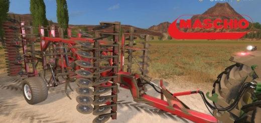 Мод культиватор Maschio Dracula 500 v1.1 Farming Simulator 17