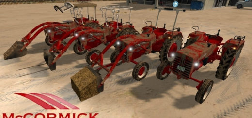 Мод трактор McCormick D430 FL v1.0 Farming Simulator 2017
