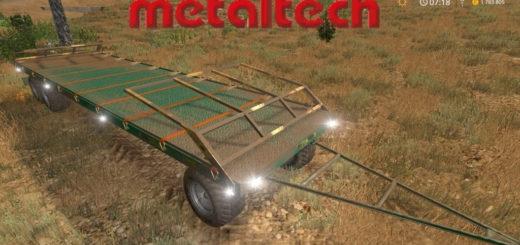 Мод прицеп Metaltech PBD 16 v1.0 Farming Simulator 17
