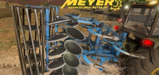 Мод культиватор Meyer Sauzahn SZ 4000 v2.0 Farming Simulator 17