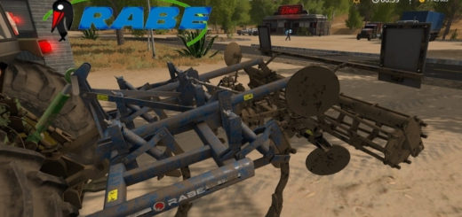 Мод культиватор Rabe Bluebird GH 3000 v1.0 Farming Simulator 17