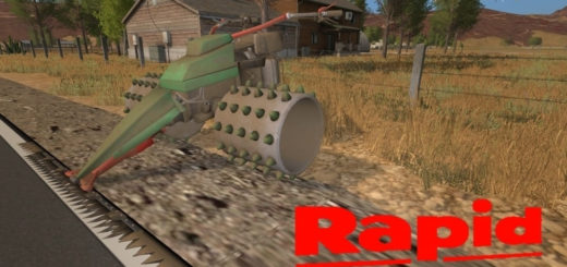 Мод Rapid Euro 4 v1.0 Farming Simulator 17