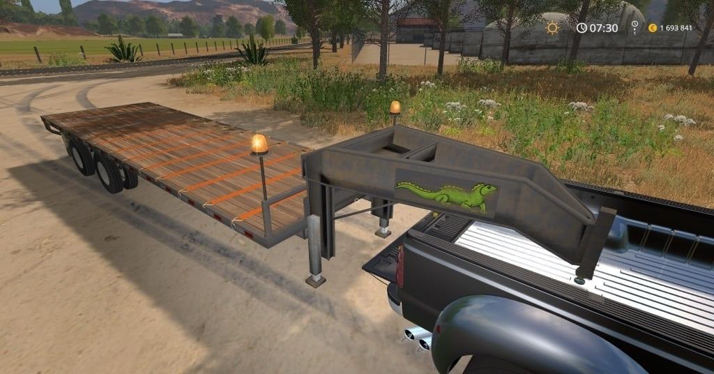 Мод прицеп Seed Tender Trailer v1.0 Farming Simulator 2017