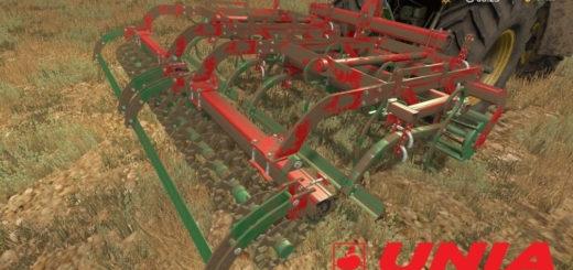 Мод культиватор Unia Max 4 v1.0 Farming Simulator 2017