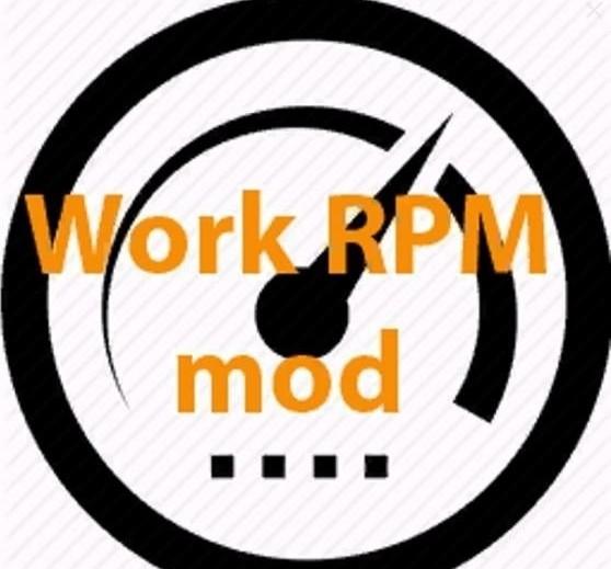 Мод FS17 Work RPM v1.3 FS17