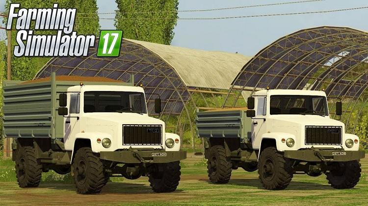 Мод грузовик ГАЗ-3308 Садко v1.0.0.1 Фарминг Симулятор 2017