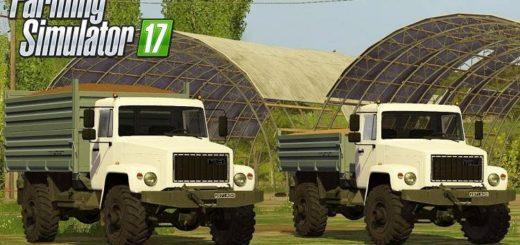 Мод грузовик ГАЗ-3308 Садко v1.0 Фермер Симулятор 2017