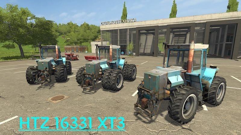 Мод трактор ХТЗ-16331 v1.1 Фарминг Симулятор 2017