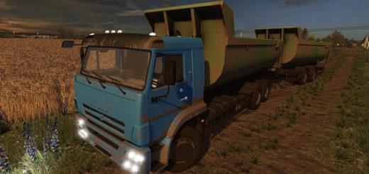 Мод грузовик КамАЗ-658667 V1.2 Фермер Симулятор 2017