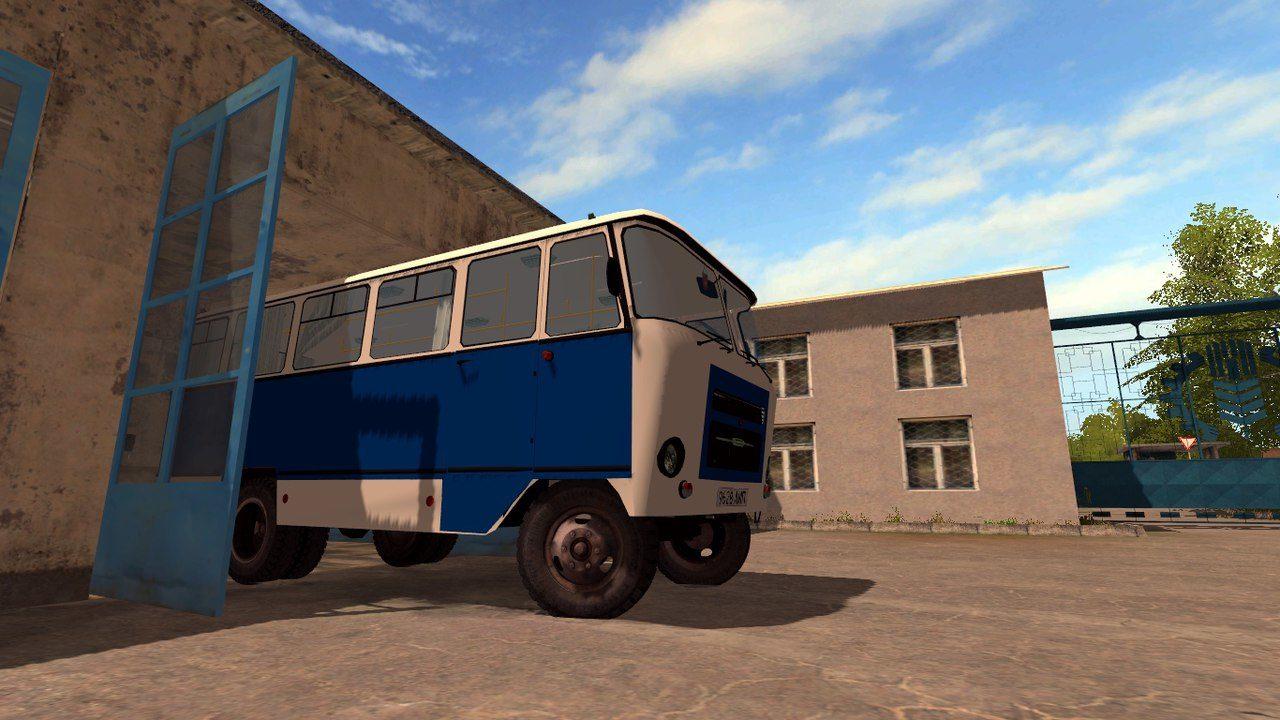 Мод автобус Кубань Фермер Симулятор 2017