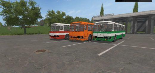 Мод ПАК автобусы ЛИАЗ Фермер Симулятор 2017
