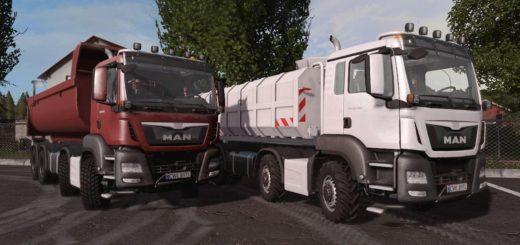 Мод грузовик MAN TGS AGROTRUCK V1.2.0.0 FS17