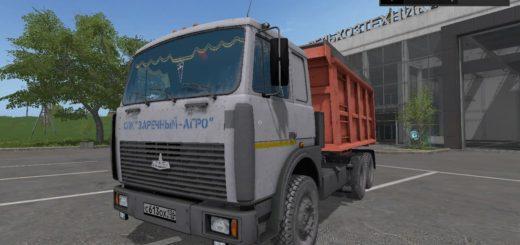 Мод грузовик МАЗ-5516 Фарминг Симулятор 2017