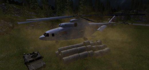 Мод вертолет Ми-26 v1.0 Фермер Симулятор 2017