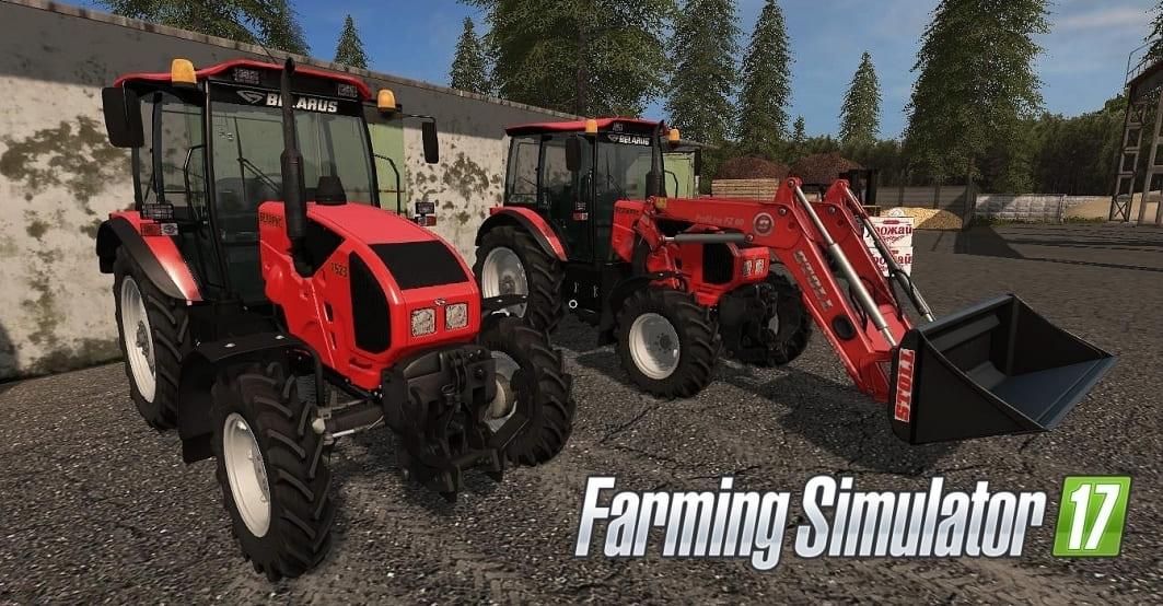 Мод трактор МТЗ-1523 v1.0 Фермер Симулятор 2017