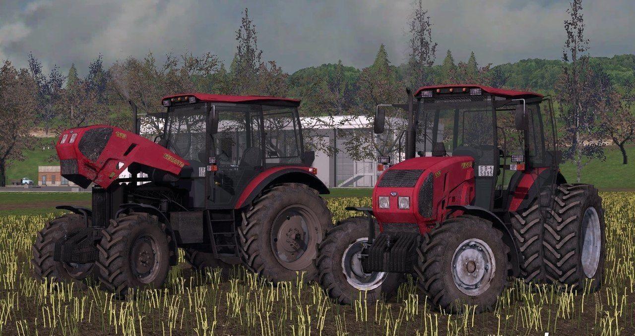 Мод трактор МТЗ-1523 v2.5 Фермер Симулятор 2017