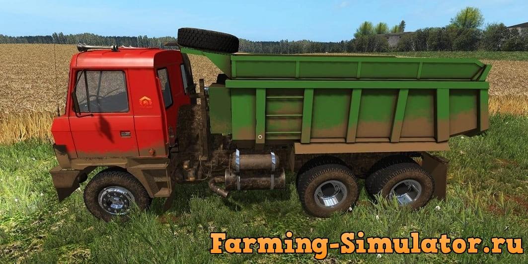Мод грузовик Татра-815 v1.0 Фермер Симулятор 2017