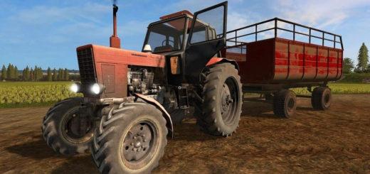 Мод трактор МТЗ-82 V3.1 Фермер Симулятор 2017