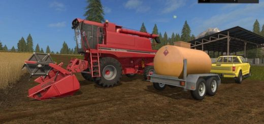 Мод прицеп LIZARD FUEL CART V1.0 Farming Simulator 2017
