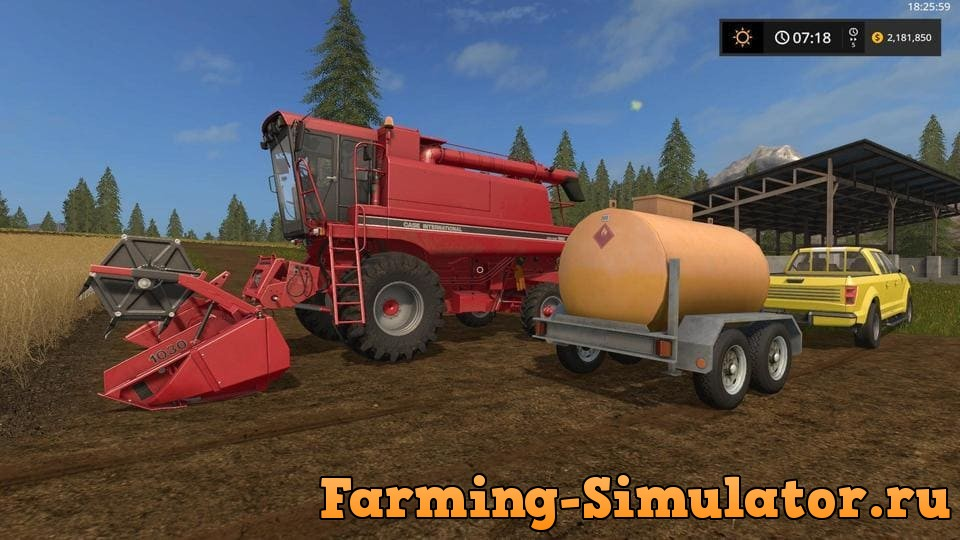 Мод прицеп LIZARD FUEL CART V1.0 Farming Simulator 2017
