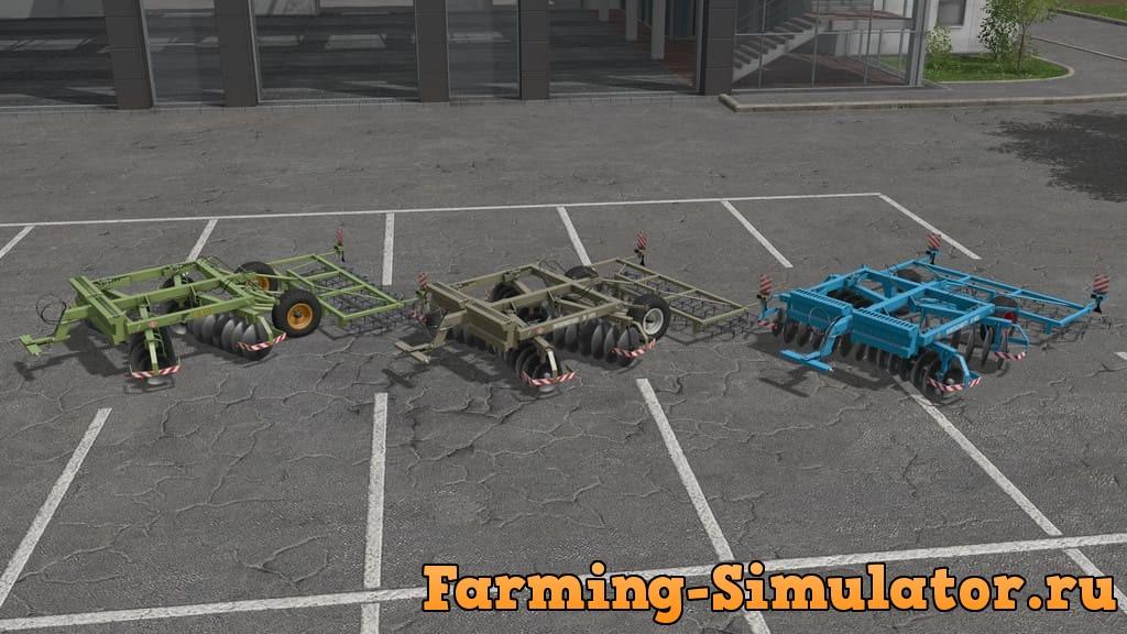 Мод культиватор B402 CULTIVATOR V1.0.0.0 Farming Simulator 17