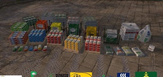 Мод ПАК BD PALLET AND BAGS V1.1.0.0 FS17