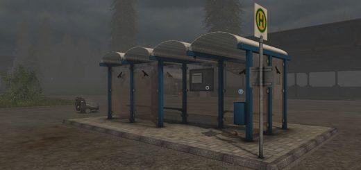 Мод Bus Station v1.0.1 Farming Simulator 17