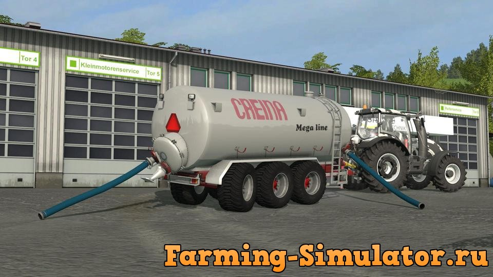 Мод прицеп CREINA CVC 25000 V1.0 Farming Simulator 2017
