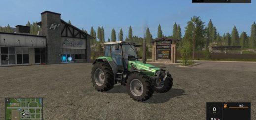 Мод трактор DEUTZ AGROSTAR 6.38 V2.0.0 Farming Simulator 2017