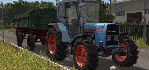 Мод трактор EICHER 2070 KOENIGSTIGER PROTOTYPE V1.0 FS17