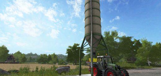 Мод FERTILIZER SILO V1.0.0.0 Farming Simulator 2017
