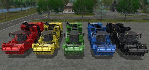 Мод комбайн GRIMME MAXTRON 620 V1.2.0 Farming Simulator 17