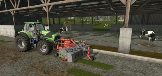 Мод HOLARAS SWEEPER TURBO A-270-V V1.0 Farming Simulator 2017