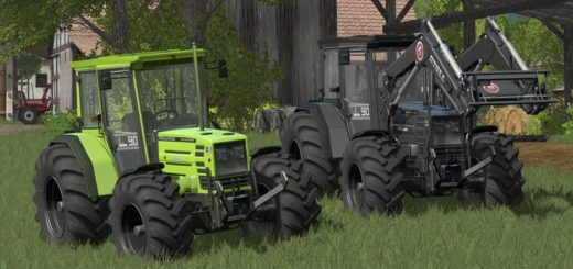 Мод трактор HUERLIMANN H488 WITH BIG WHEELS V1.0 FS17
