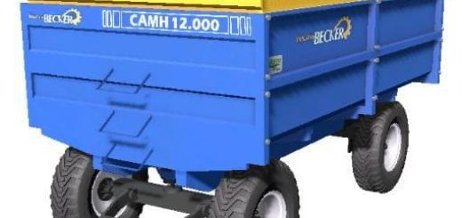 Мод прицеп INDUSTRIAL BECKER CAMH 12000 V1.1 Farming Simulator 2017