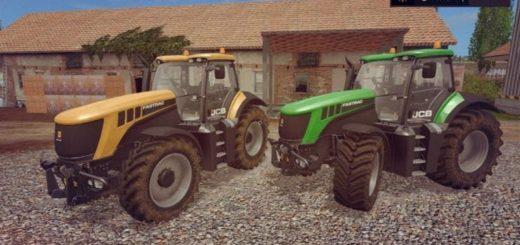 Мод трактор JCB FASTRAC 8000 V1.2 FS17